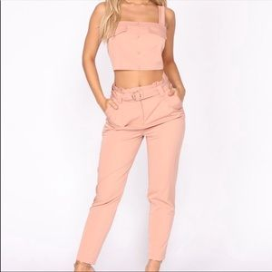 Other - Chic top and pant set